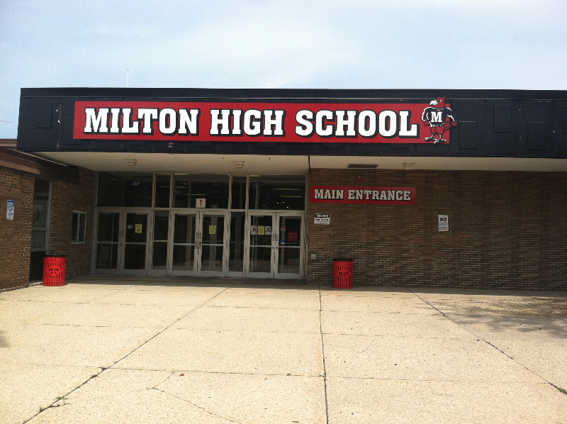 Milton High School Milton ma Milton High School Our